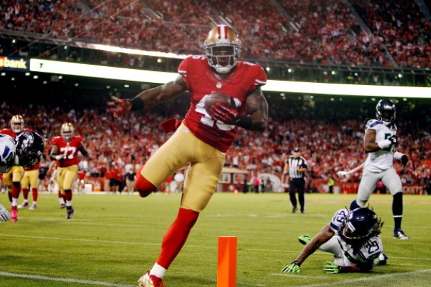 49er's vs Seahawks in Photos