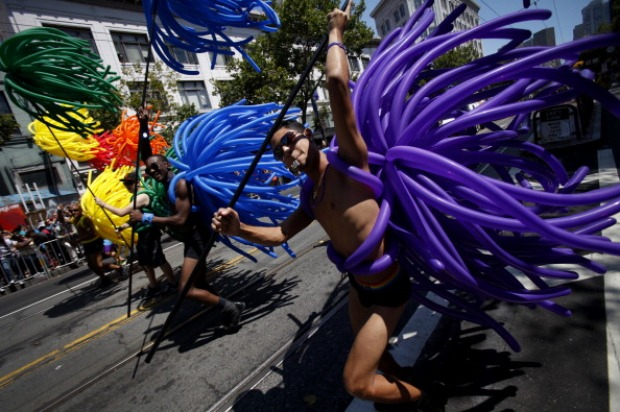 Gay Pride Parade Ignites San Francisco