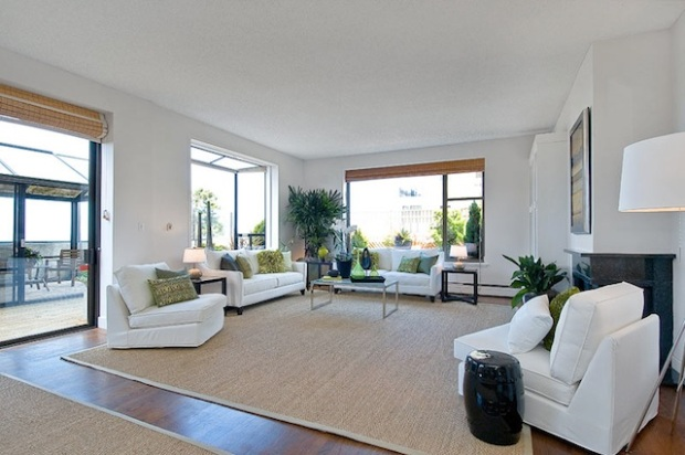 SF Condo with Wraparound Terrace Hits Market