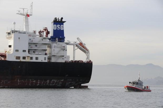 [BAY] Tanker Accident May Help Close Bay Bridge Loophole