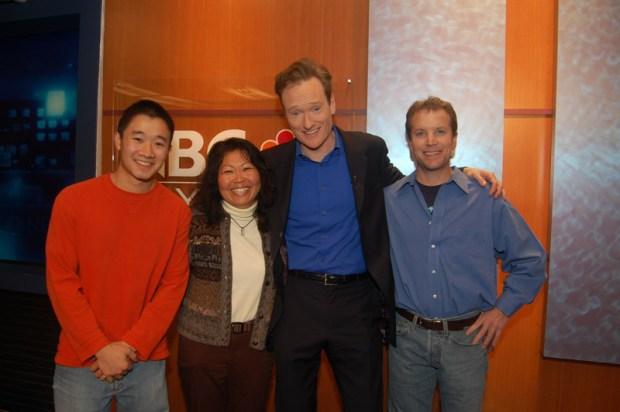 Conan Visits NBC Bay Area Slideshow
