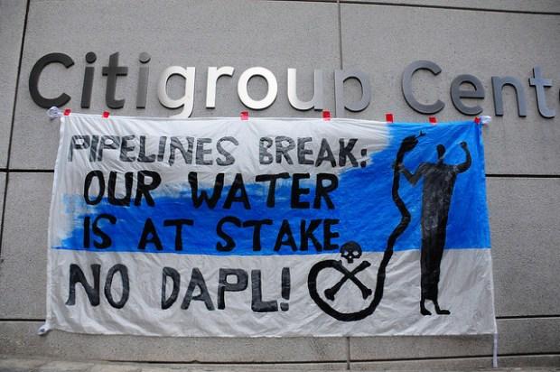 Police Arrest Activists Protesting DAPL Funding