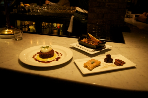 Foie Gras and Laphroaig Terrine, Lamb Cassoulet, Pig's Head Cake Debut at Russell House Tavern