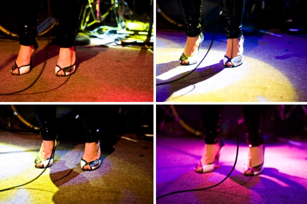 Alice Russell Brings Her Shoes to the Bay