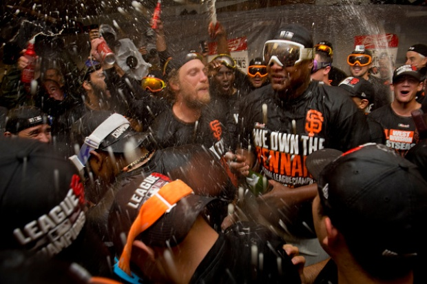 [BAY] Giants Win National League Pennant, Advance to World Series