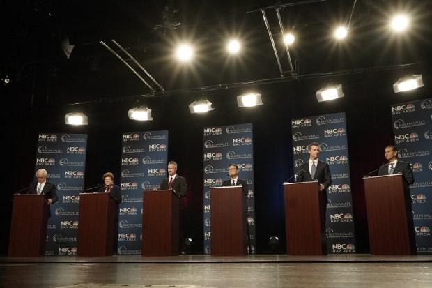 Highlights From the California Gubernatorial Debate