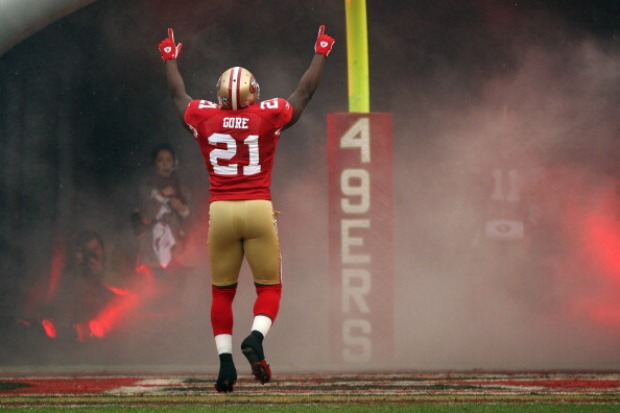 San Francisco 49ers' 2012 Season in Pictures
