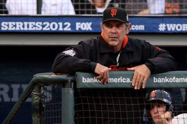 [BAY] Raw Video: Bruce Bochy on Big Game One Win