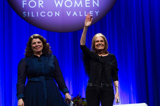 Gloria Steinem Inspires Young Women at San Jose's Watermark Conference