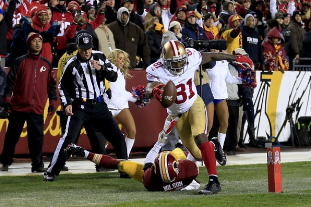 San Francisco 49ers vs. Washington Redskins