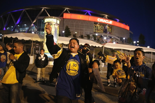 Golden State Warriors 2015 Fan Photos