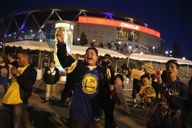 Golden State Warriors 2015 Fan Photos