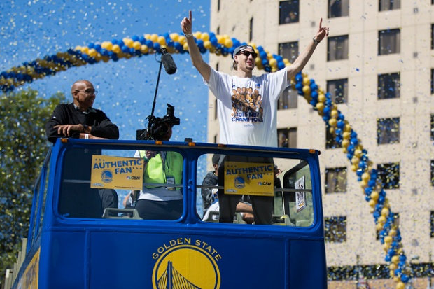 SLIDESHOW: Golden State Warriors Victory Parade