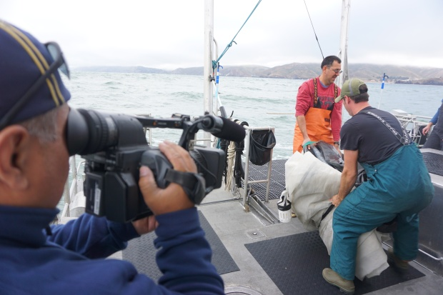 Behind the Scenes: Our Trip Out to Sea