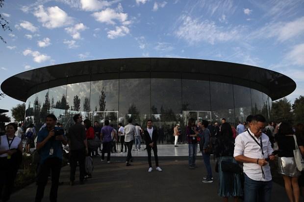 Apple Unveils Latest iPhone at New Spaceship Campus