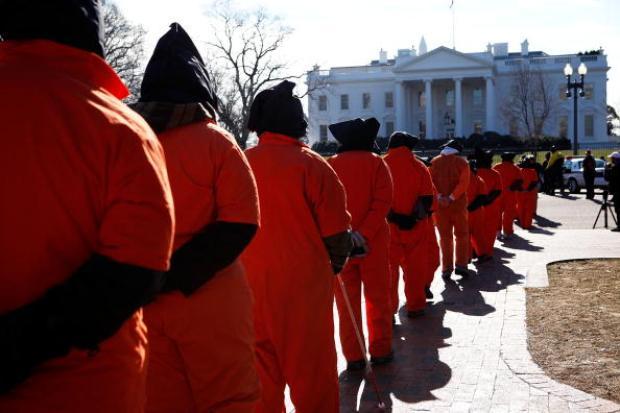 Activists Protest Guantanamo Prison