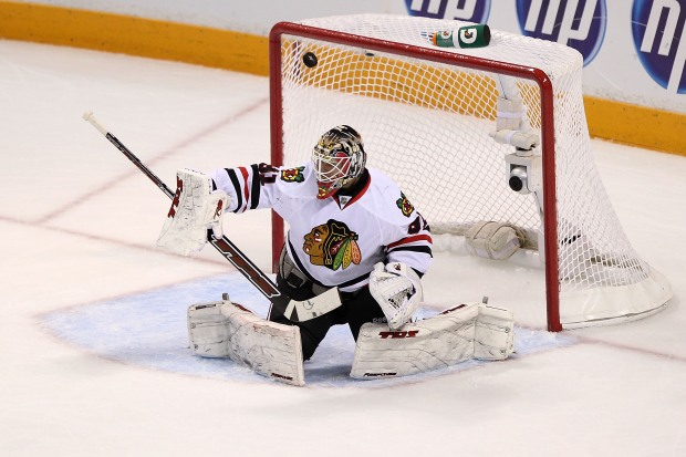 Hawks Steal Game One From the Sharks