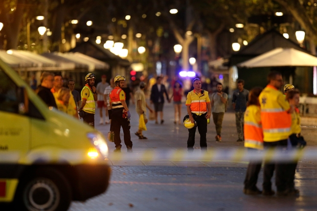 [NATL] Photos: Deadly Barcelona Van Terror Attack