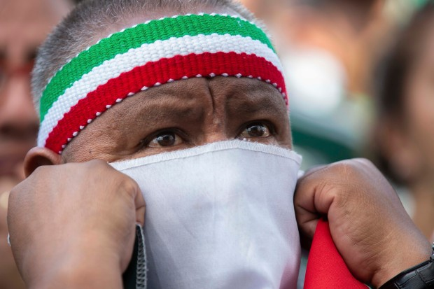 PHOTOS: In Mexico City, More Than 90 Pressure-Packed Minutes End With a World Cup Celebration