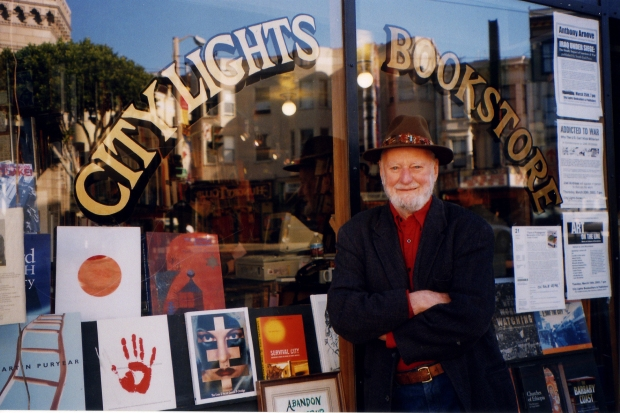 [BAY] Celebrating Poet Ferlinghetti's 100th Birthday at his Iconic City Lights Bookstore