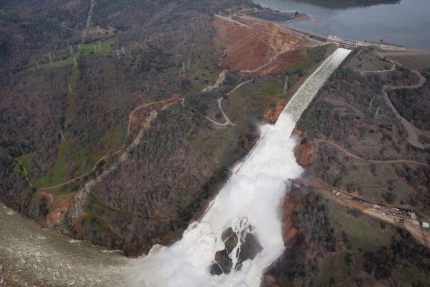 [BAY] Oroville Incident Prompts Concerns at Other Dams