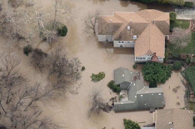 San Jose Grapples With Record Flooding