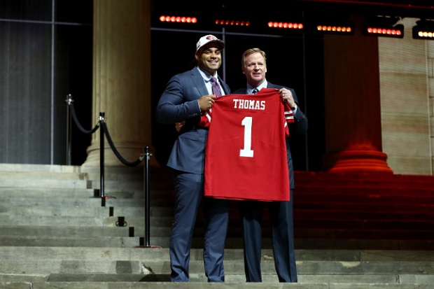 NFL Draft: 49ers and Raiders Top Picks in 2017