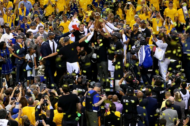 The Trilogy: Warriors Win Game 5, Capture NBA Title