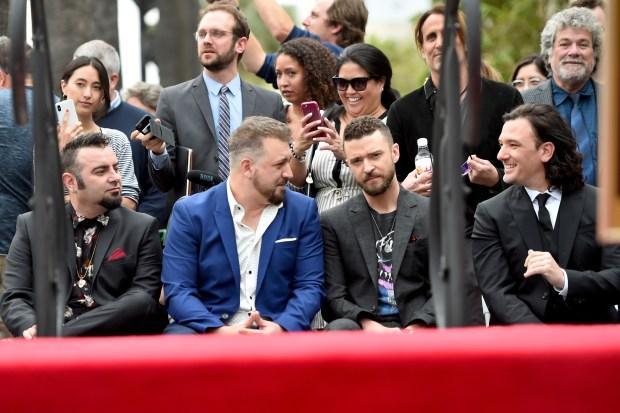 NSYNC Still Tearin' Up Hearts, Gets Star on Walk of Fame