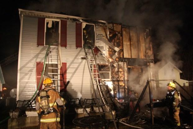 Fire in Historic Laurel