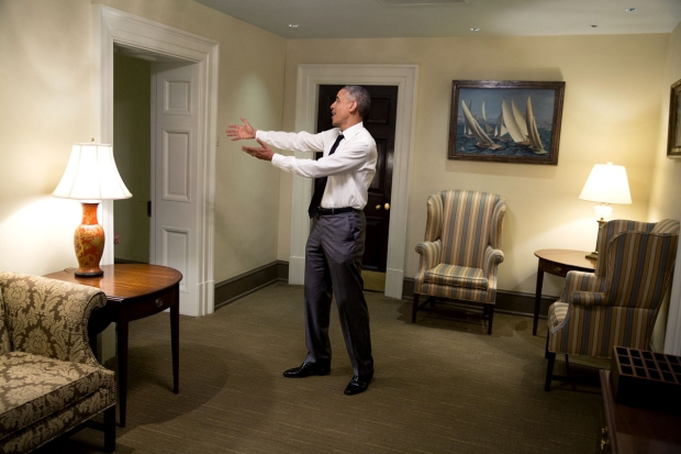 [NATL] Behind the Scenes: Pete Souza's White House Images from 2015