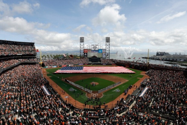 Opening Weekend Celebration for the San Francisco Giants