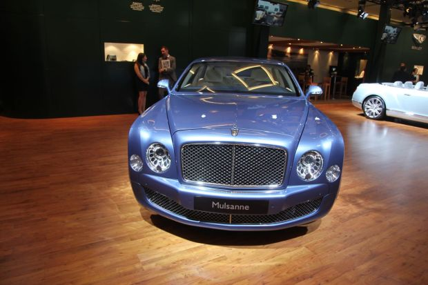 Closer Look: Bentley at the LA Auto Show