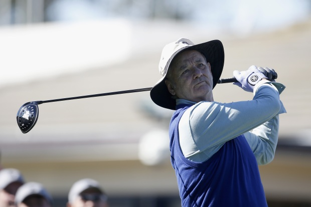 Celebrities Hit the Links at Pebble Beach