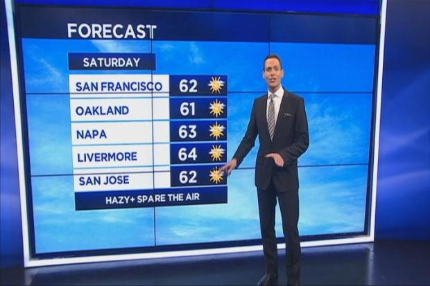 [BAY] Jeff's Weekend Forecast & Near Records Soon