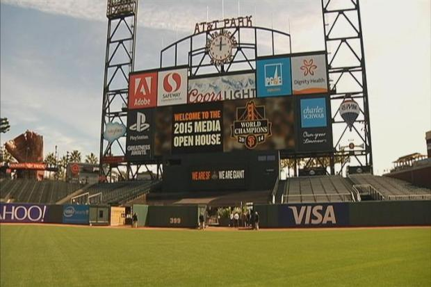 "San Francisco Giants Unveil ""What's New"" at AT&T Park in 2015"