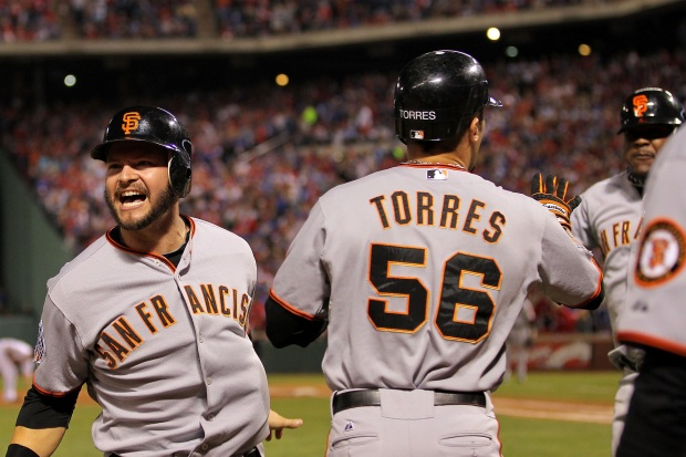 In Pictures: Giants World Series Highlights