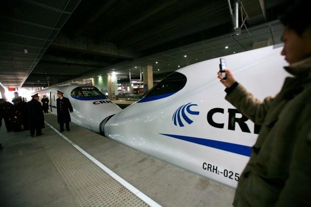 High-Speed Rail Lines Around the World