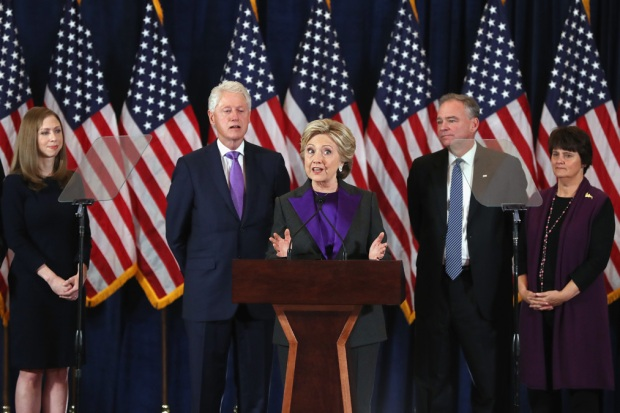 WATCH: Clinton Gives Concession Speech