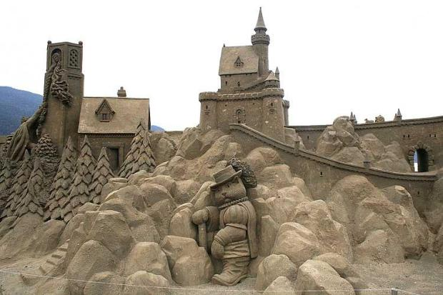 Sand Sculpture Ideas from SoCal