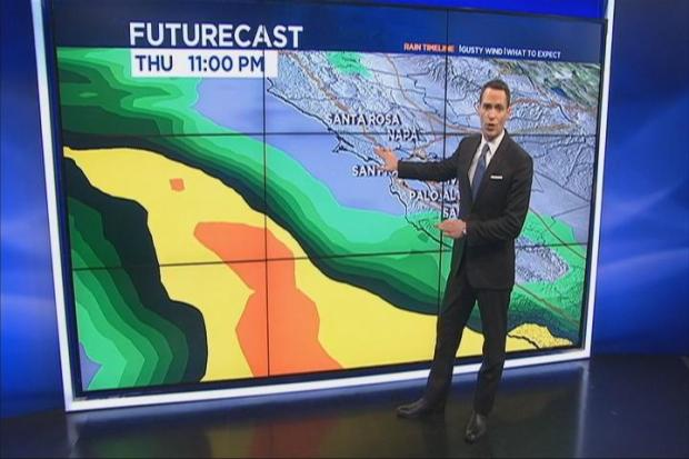 [BAY] Jeff's Forecast: Heavy Rain, Wind + Lightning
