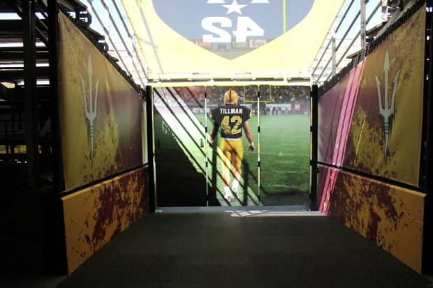 Arizona State Football Honors Pat Tillman