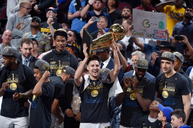 [BAY] Warriors Sweep Cavaliers, Win NBA Championship