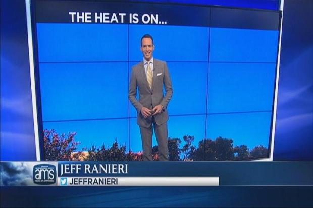 [BAY] Hot Friday As Jeff Tracks 103 Degree Heat