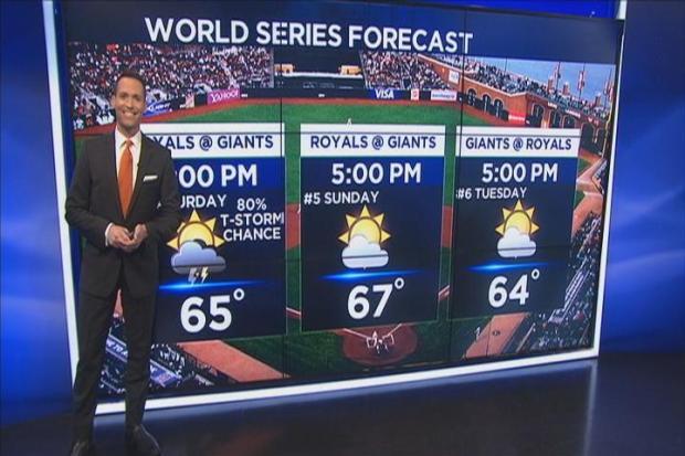 [BAY] Saturday Rain + Jeff's World Series Forecast