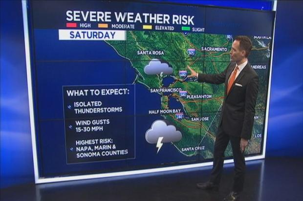 [BAY] Jeff's Forecast: Rain, T-Storms + World Series