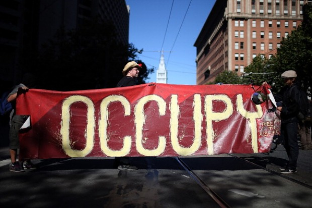 Occupy SF Gathers for Anniversary