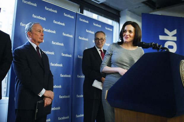 "'I Was Called Bossy My Entire Life,"" Says Sandberg"