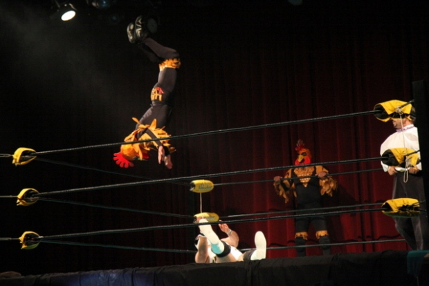 Sexy Suplex in San Francisco via Lucha VaVoom