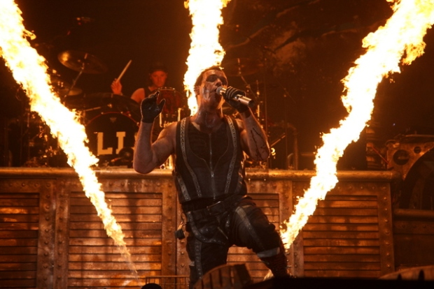 Rammstein Sets Oakland Ablaze